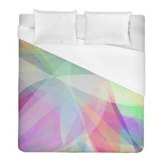 Colorfull Curves Duvet Cover (full/ Double Size)