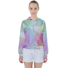 Colorfull Curves Women s Tie Up Sweat