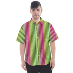 Colorfull Design Men s Short Sleeve Shirt