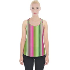 Colorfull Design Piece Up Tank Top