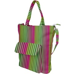 Colorfull Design Shoulder Tote Bag