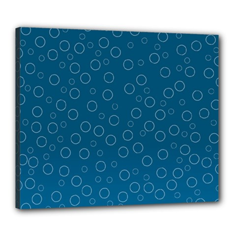 Cool Bubbles Canvas 24  X 20  (stretched) by TimelessDesigns