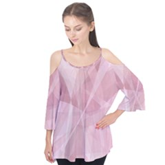 Curves In Pink Flutter Tees