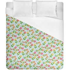 Cute Flowers Duvet Cover (california King Size) by FEMCreations
