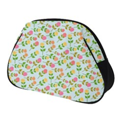 Cute Flowers Full Print Accessory Pouch (small) by TimelessFashion