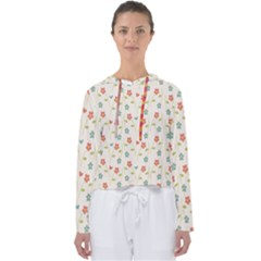 Cute Little Flowers Women s Slouchy Sweat