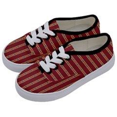 Cute Pattern  Kids  Classic Low Top Sneakers by TimelessFashion