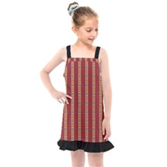 Cute Pattern  Kids  Overall Dress by TimelessFashion