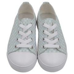 Cute Little Twirls  Kids  Low Top Canvas Sneakers