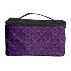 Damask In Purple Cosmetic Storage