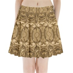 Abstract #8   Iii   Antique 6000 Pleated Mini Skirt by KesaliSkyeArt