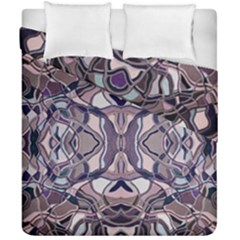 Abstract #8   Iii   Aquatic 6000 Duvet Cover Double Side (california King Size)