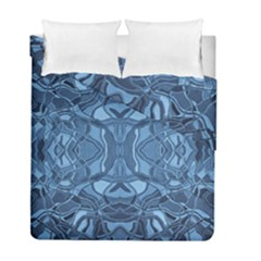 Abstract #8   Iii   Blue 6000 Duvet Cover Double Side (full/ Double Size)