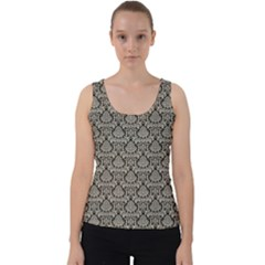 Dream In Damask  Velvet Tank Top by TimelessFashion