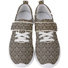 Dream In Damask  Men s Velcro Strap Shoes by TimelessFashion