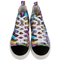Unicorn Rave Men s Mid Top Canvas Sneakers