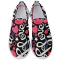 <3 I Love You <3 Men s Slip On Sneakers View1