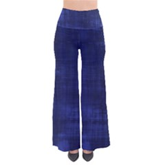 Fabric In Blue So Vintage Palazzo Pants