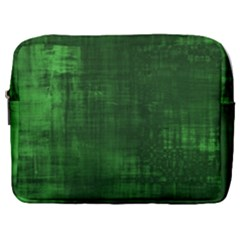Fabric In Green Make Up Pouch (large) by TimelessFashion