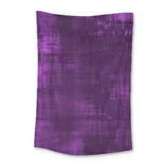 Fabric In Purple Small Tapestry by TimelessDesigns