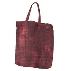 Fabric In Red Giant Grocery Tote