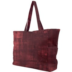 Fabric In Red Simple Shoulder Bag