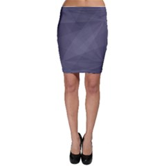 Dark In Grey  Bodycon Skirt