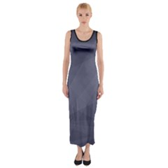 Dark In Grey  Fitted Maxi Dress by TimelessFashion