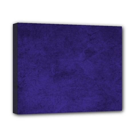 Fluffy Blue Canvas 10  X 8  (stretched)