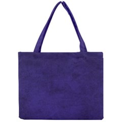 Fluffy Blue Mini Tote Bag