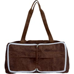 Fluffy Brown Multi Function Bag