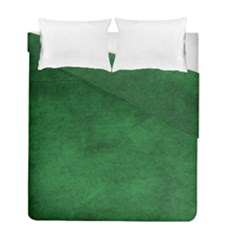 Fluffy Green Duvet Cover Double Side (full/ Double Size) by TimelessDesigns
