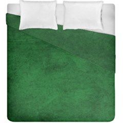 Fluffy Green Duvet Cover Double Side (king Size) by TimelessDesigns