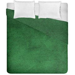Fluffy Green Duvet Cover Double Side (california King Size) by TimelessDesigns