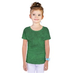 Fluffy Green Kids  One Piece Tee by TimelessFashion