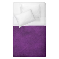 Fluffy Purple Duvet Cover (single Size) by TimelessDesigns