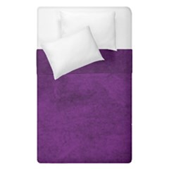 Fluffy Purple Duvet Cover Double Side (single Size) by TimelessDesigns