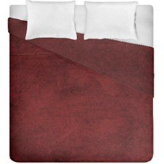 Fluffy Red Duvet Cover Double Side (king Size) by TimelessDesigns
