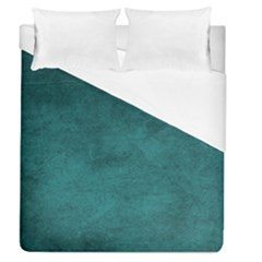 Fluffy Turquoise Duvet Cover (queen Size) by TimelessDesigns