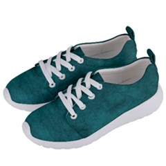 Fluffy Turquoise Women s Lightweight Sports Shoes by TimelessFashion