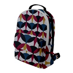 Inner Circle  Flap Pocket Backpack (large) by FEMCreations
