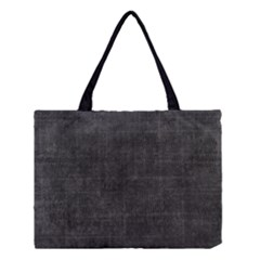 Leather Black  Medium Tote Bag by FEMCreations