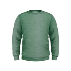 Metallic Green Kids  Sweatshirt