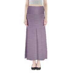 Metallic Pink Full Length Maxi Skirt by TimelessFashion
