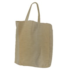 Metallic Yellow Giant Grocery Tote by TimelessFashion