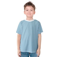 Polka Dot Blue  Kids  Cotton Tee