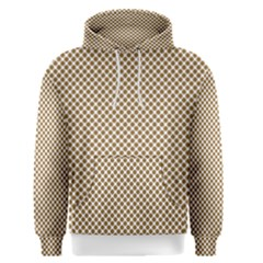 Polka Dot Brown Men s Pullover Hoodie