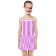 Polka Dot Pink  Kids  Summer Sun Dress