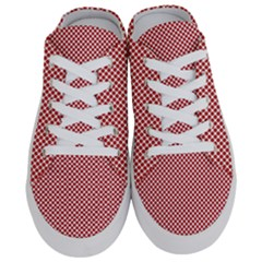 Polka Dot Red  Half Slippers by TimelessFashion