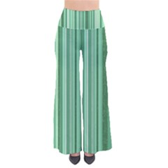 Stripes In Green So Vintage Palazzo Pants